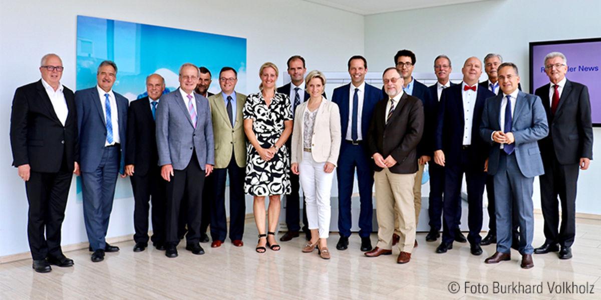 Besuch der baden-württembergischen Wirtschaftsministerin bei Rentschler
