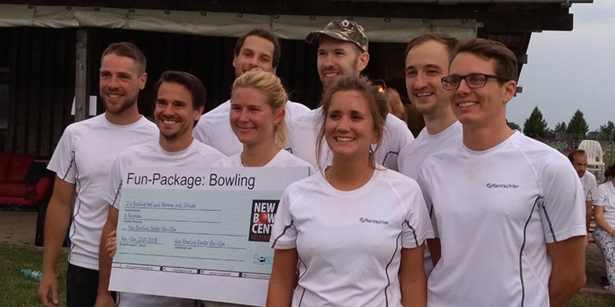 Rentschler Biopharma Team gewinnt Laupheimer Beachvolleyball-Turnier