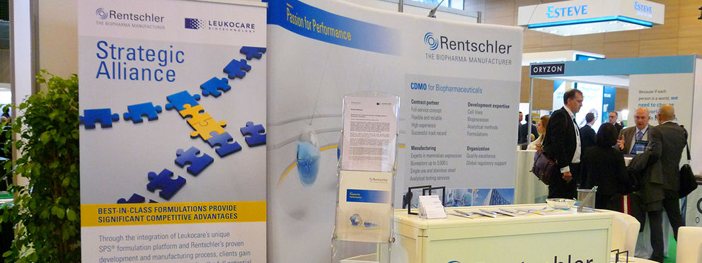 Rentschler/Leukocare alliance as main topic at the BIO-Europe Spring