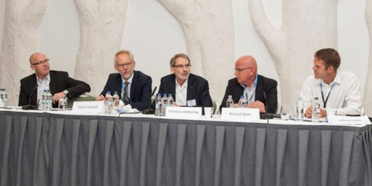Teilnahme an zwei europäischen Biotech-Veranstaltungen