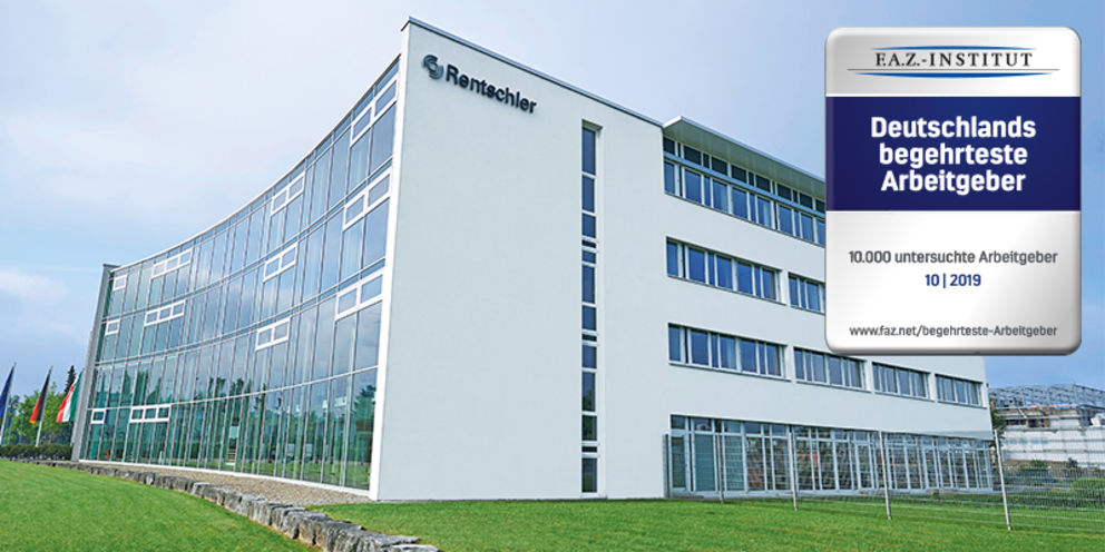 Rentschler Biopharma SE is once again one of the top-ranked employers in Germany