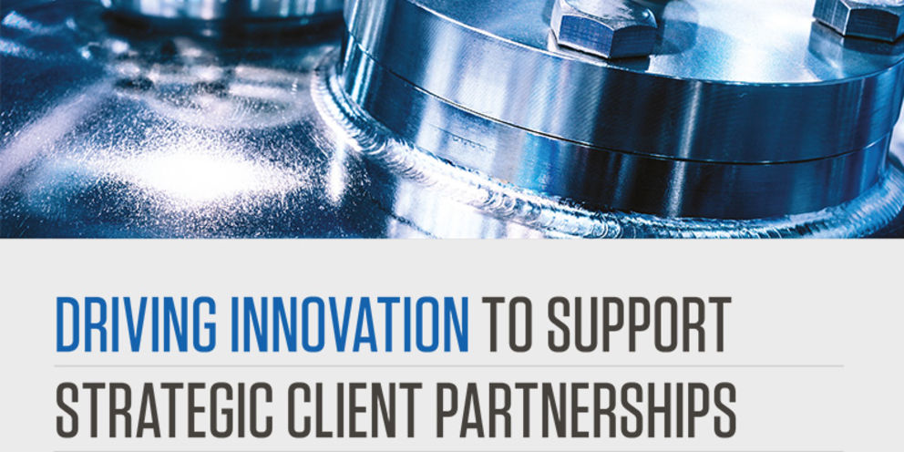 Driving innovation to support strategic client partnerships