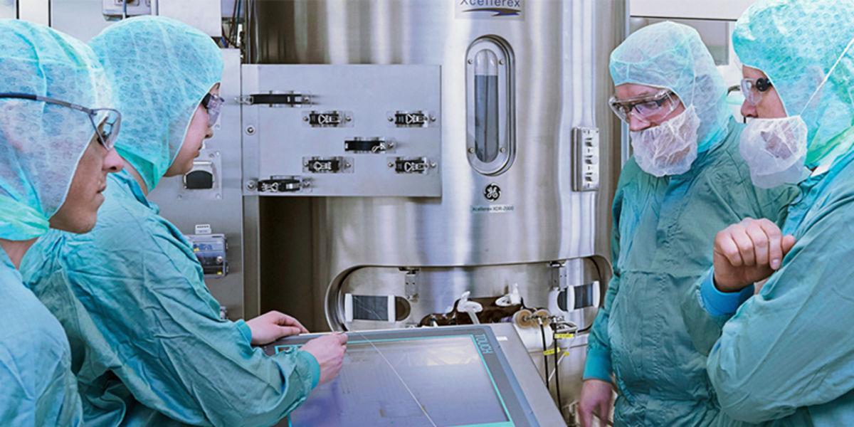Rentschler Biotechnologie erweitert europäische Produktionskapazitäten mit GE Healthcare Life Sciences Bioprozess Technologien