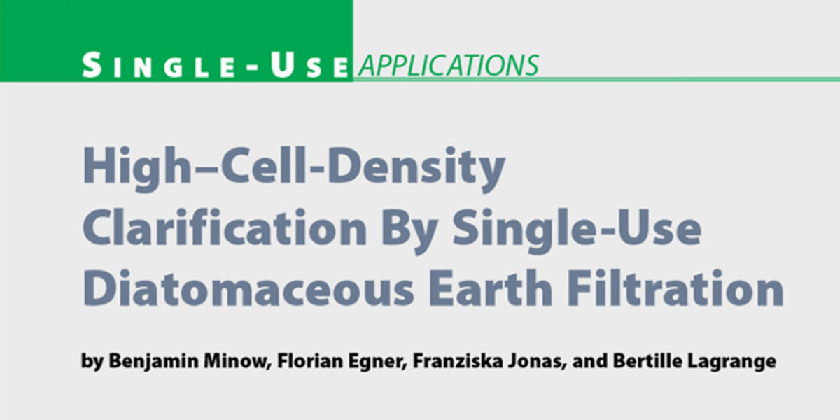Article in BioProcess International, Apr 2014