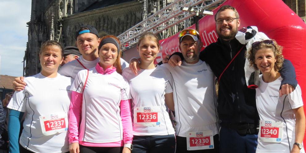 Rentschler employees successful at the 13. Einstein-Marathon