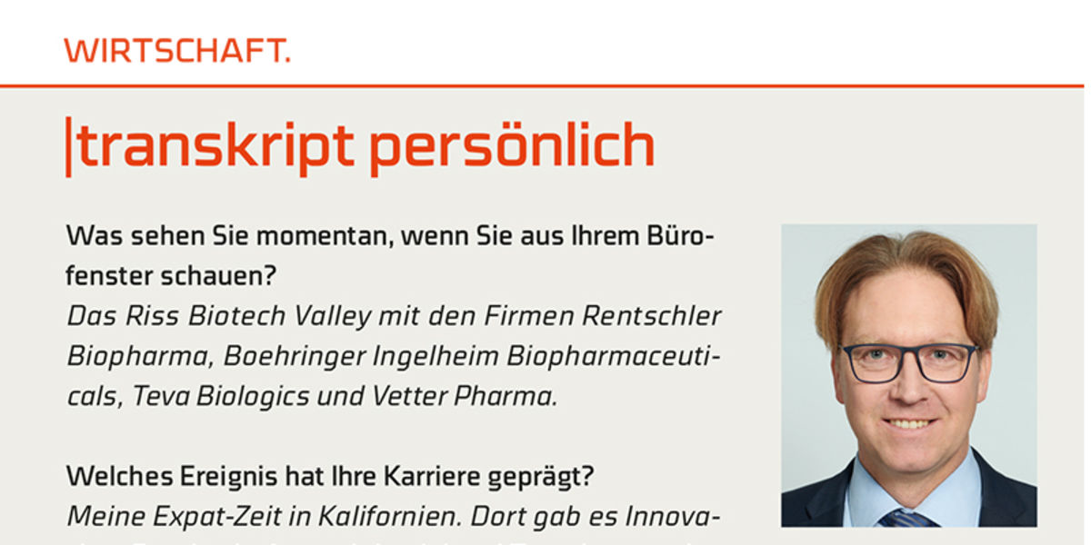 Transkript persönlich stellt Dr. Ralf Otto vor