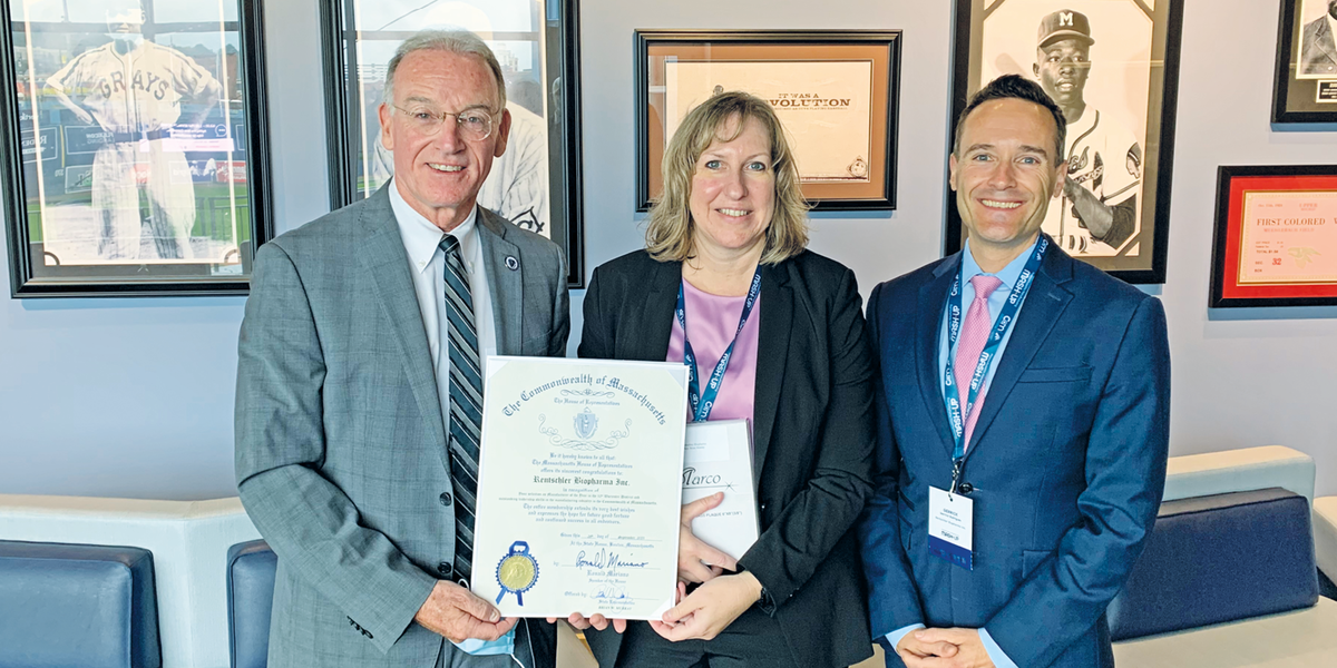 Rentschler Biopharma Inc. recognized by Massachusetts House of Representatives as 'Manufacturer of the Year' for District