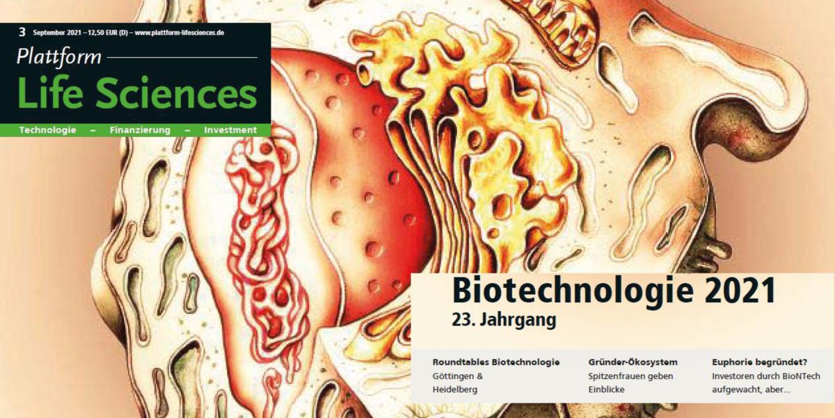 Beiträge in der Biotechnologie Ausgabe von Going Public