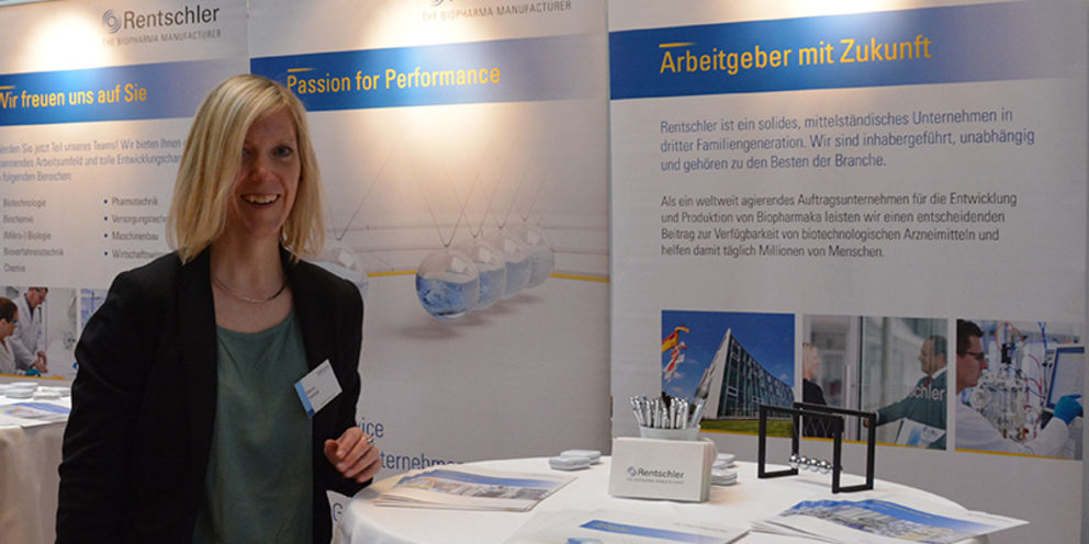 Invitation to visit Rentschler's booth at the job fair jobvector career day in Berlin on September 28th, 2017