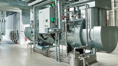 Implementing of own Combined Heat and Power plant