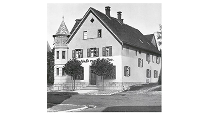 Our roots go back to the G. Müller Pharmacy in Laupheim