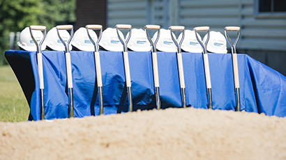 Groundbreaking at new Rentschler Biopharma Manufacturing Center US, Milford, MA