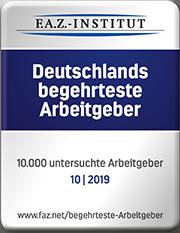 FAZ-Institut - Deutschlands begehrteste Arbeitgeber