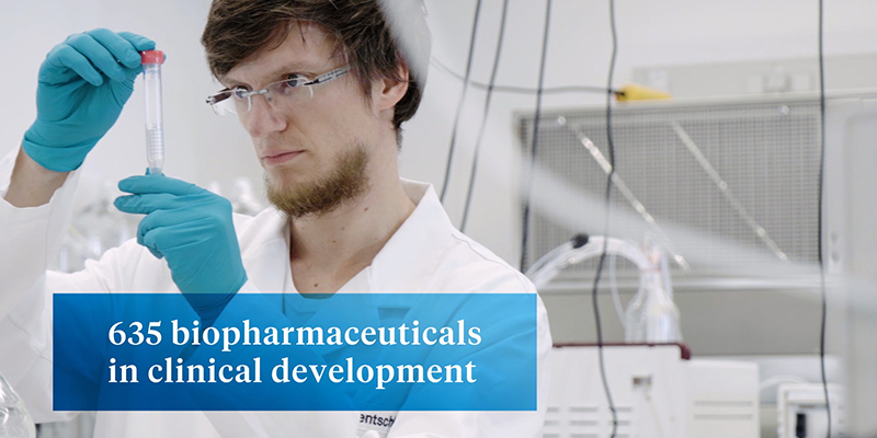 "Rentschler Biopharma is part of image video ""Medical Biotechnology in Germany"""