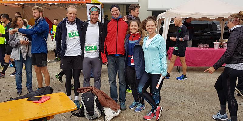Schönes Ende der Laufsaison 2018 mit dem Biberacher Genießerlauf