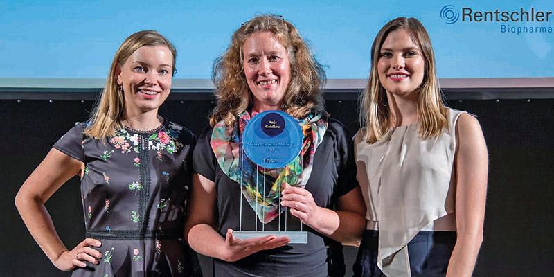 Rentschler Biopharma SE unterstützt den Ehrenpreis für gemeinnütziges, nachhaltiges Engagement