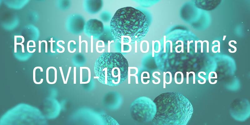 Rentschler Biopharmas Reaktion auf COVID-19