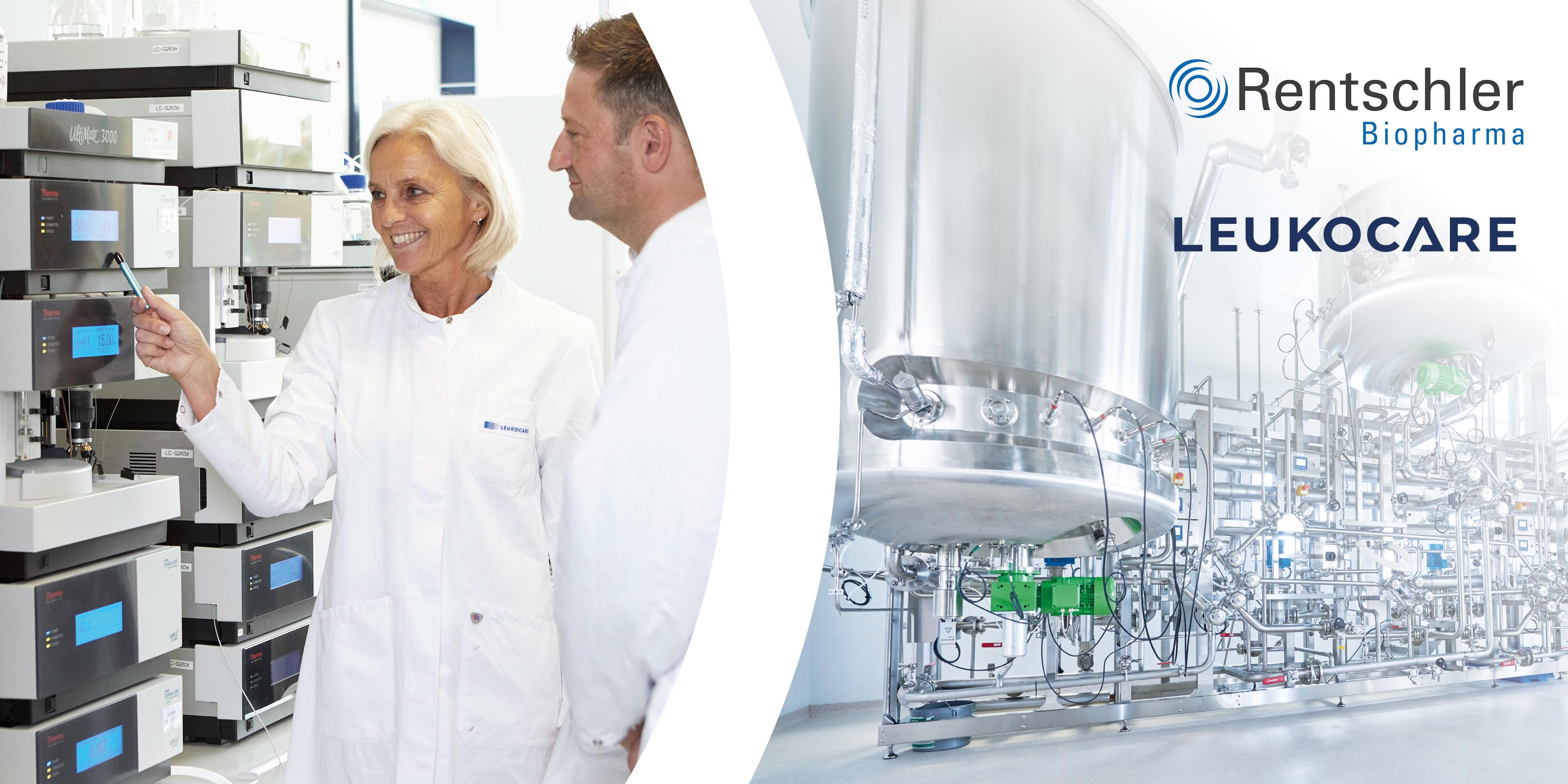 Rentschler Biopharma und Leukocare erweitern Angebot mit einem gemeinsamen U.S.-Standort