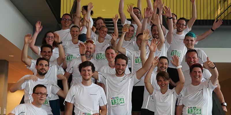 Tolle Leistung des Rentschler-Teams beim 3. DEE-AOK-Firmenlauf