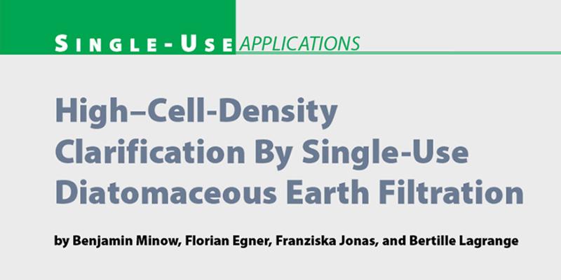 Artikel in BioProcess International, Apr 2014
