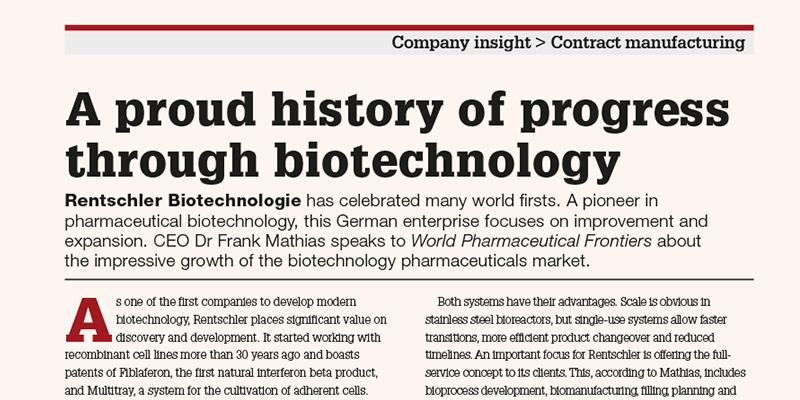 Artikel in World Pharma, Vol. 2, 2016