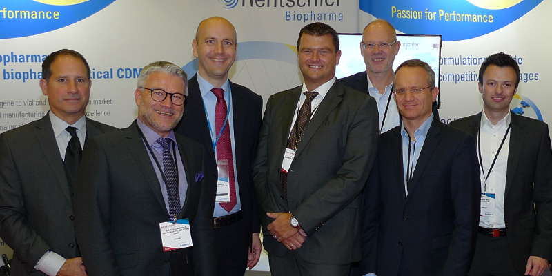 Rentschler Biopharma and its partners collectively presented themselves at BIO-Europe