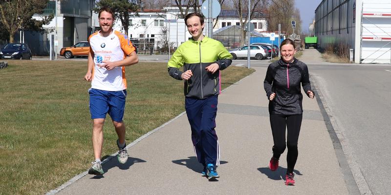 Teilnahme am Einstein-Marathon in Ulm