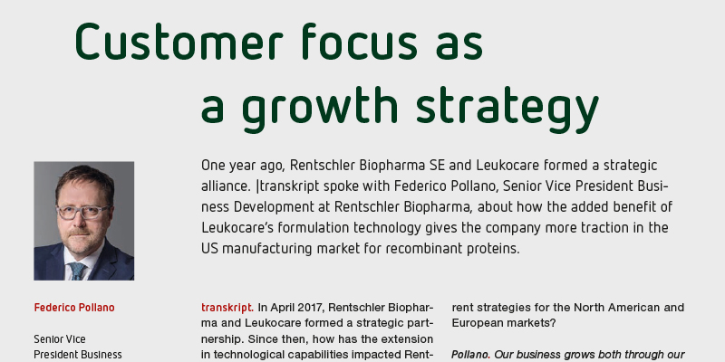 Customer focus as a growth strategy